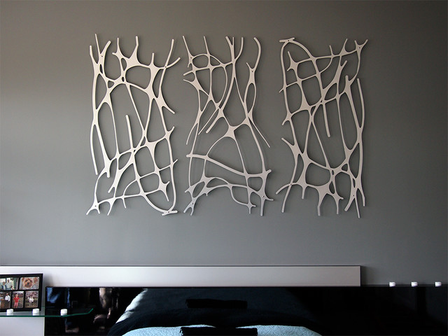 Wall Art 2 Contemporary Bedroom Indianapolis By