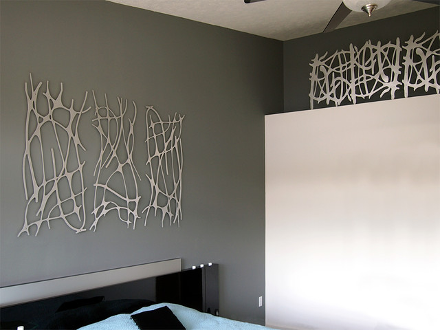 modern wall decor for bedroom wall 2 modern bedroom indianapolis by moda 19293