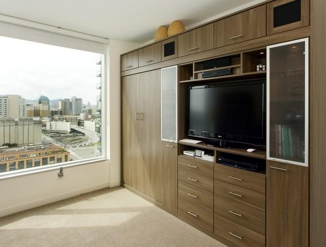 Wall beds contemporary bedroom hawaii by for California closets hawaii