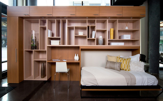 Wall Beds Contemporary Bedroom Houston By California Closets