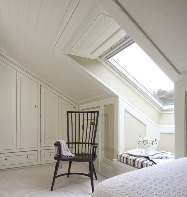 Wall morris design new england style house ireland for New england bedroom