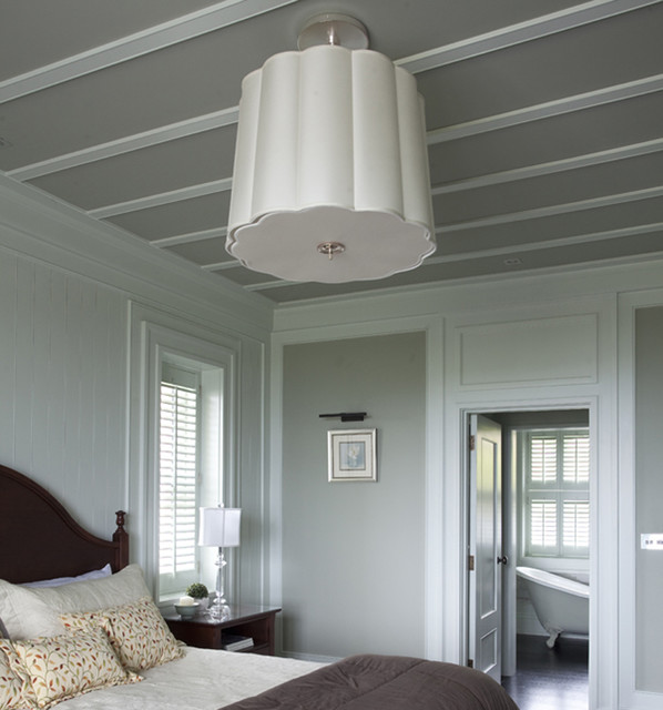 Wall Morris Design New England Style House Kerry Ireland Traditional Bedroom
