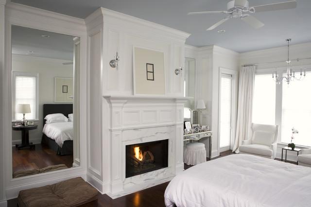 Wall Residence Master Bedroom traditional-bedroom