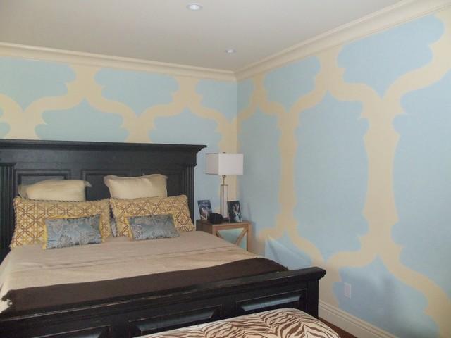 Wall Treatments traditional-bedroom