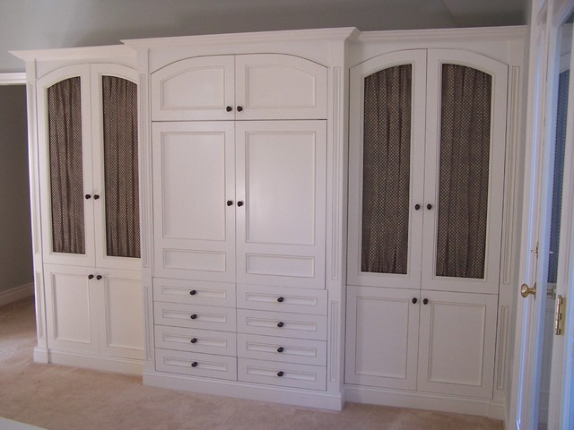 bedroom cleary york units by new traditional cabinets custom photo wall