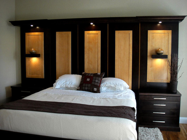 Wall units traditional bedroom other metro by for Bedroom wall units with wardrobe for small room