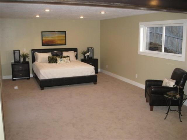 Wallace Lane- Warm Contemporary traditional-bedroom