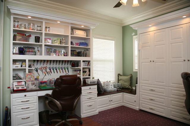 Wallbeds & Home Offices - Traditional - Bedroom - Other - by Pacific Coast Custom Design