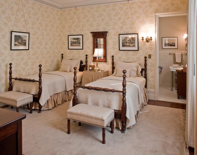 Wallpaper klassisch schlafzimmer boston von for Schlafzimmer klassisch