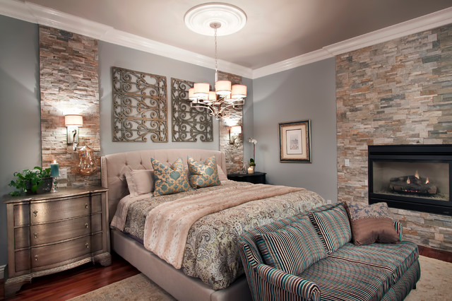 Walnut Creek Master Bedroom And Library Transitional Bedroom Other Metro By Project Guru