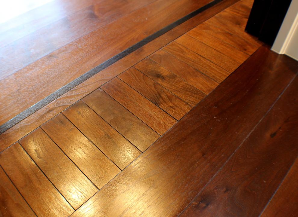 Inspiration for a huge timeless master dark wood floor bedroom remodel in Salt Lake City
