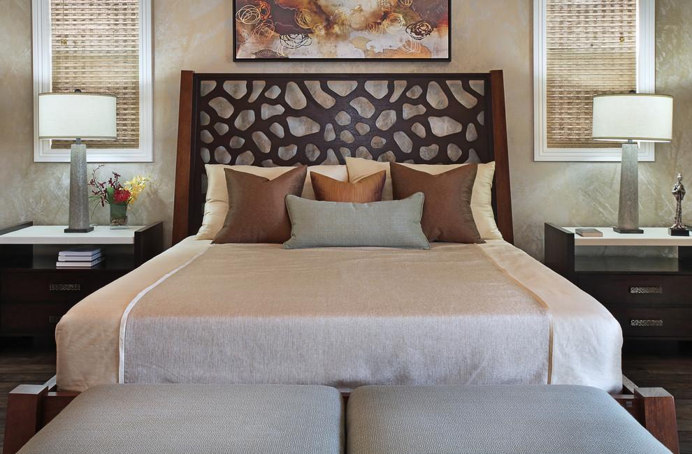 Example of a trendy bedroom design in Orange County