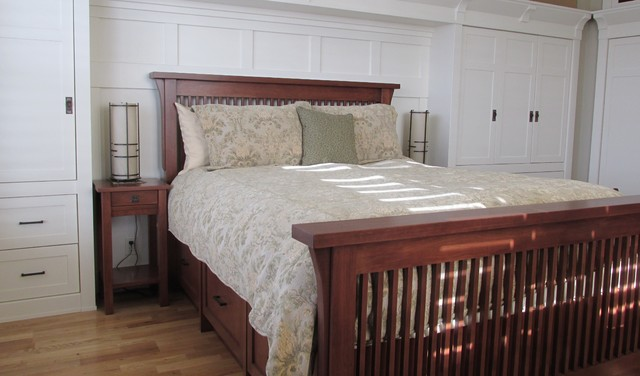 Walsh Arts and craft bedroom traditional bedroom