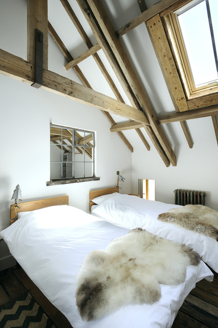Warborne Farm The Hay Loft Country Bedroom