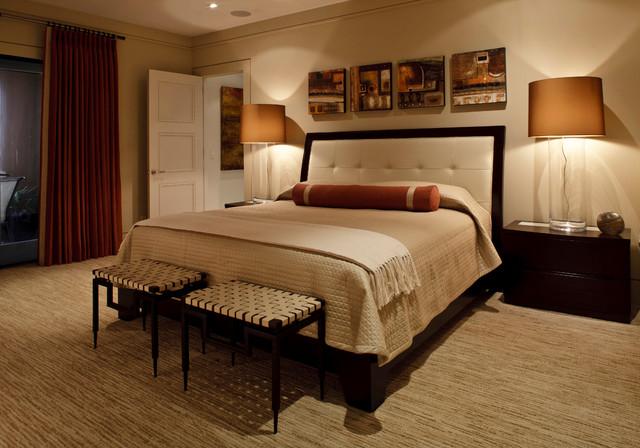 Warm contemporary contemporary bedroom jacksonville for Warm bedroom designs