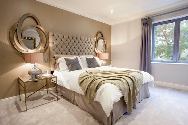 Rose Gold Bedroom | Houzz