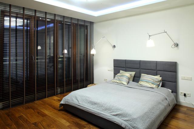 Warsaw Apartment 1 modern-bedroom
