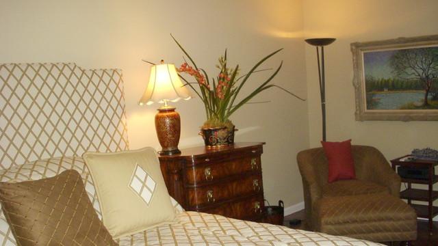 Washington D.C. Penthouse traditional-bedroom