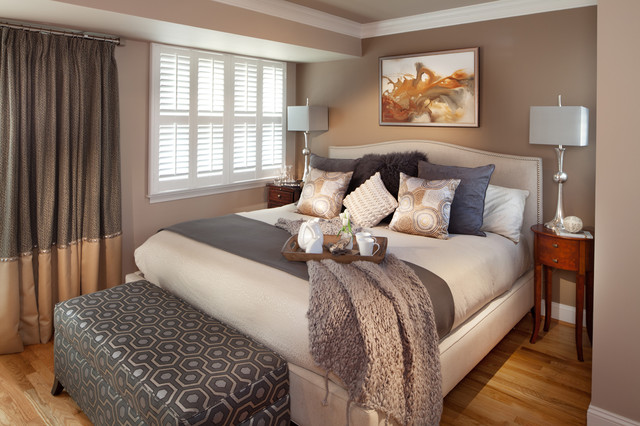 washington dc townhouse contemporary bedroom - Townhouse Bedroom Design