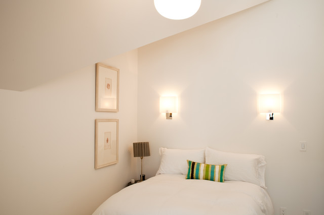 Washington Street House contemporary-bedroom