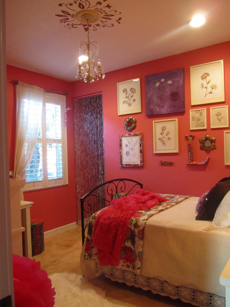 Bedroom - eclectic bedroom idea in Other