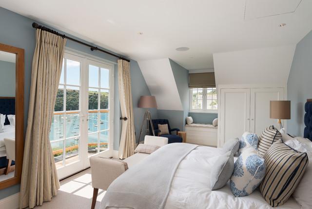 Waterside home maritim schlafzimmer devon von for Schlafzimmer maritim
