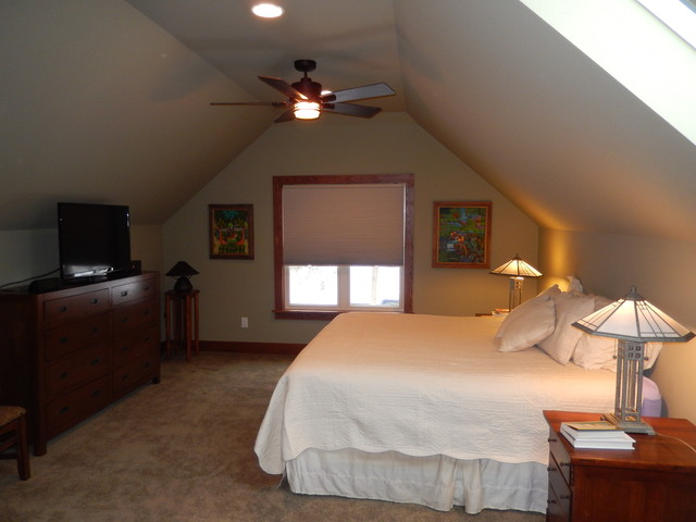 Wauwatosa Attic Master Bedroom Bath