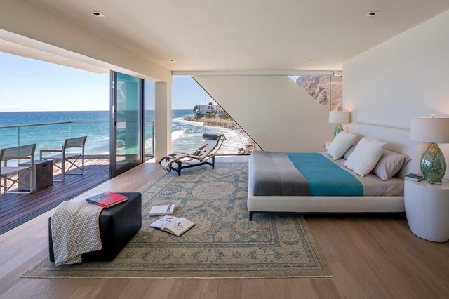 Wave House contemporary-bedroom