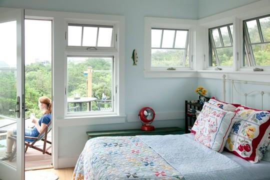 Wellfleet, MA House traditional-bedroom