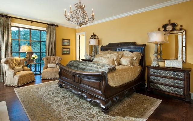 Wesley Wayne Interiors Bedrooms Mediterranean Bedroom Dallas