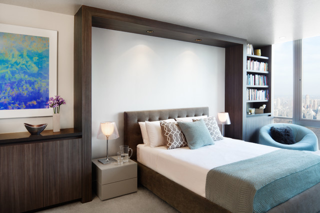 contemporary bedroom by Alexander Butler | Design Services
