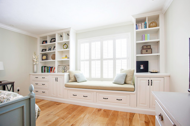 West Acton Master Bedroom Built-Ins - Bedroom - Boston - by ...