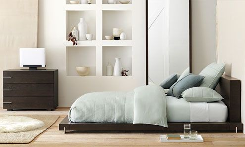 Example Of A Trendy Bedroom Design In Other