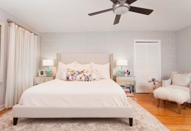 West Frances transitional-bedroom