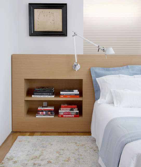 West Side Duplex contemporary-bedroom
