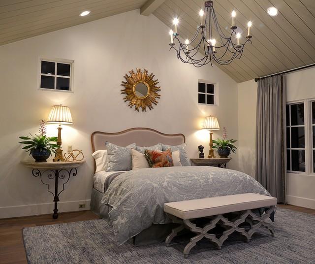 West University 2 New Construction And Interior Design Houston Tx Mediterranean Bedroom