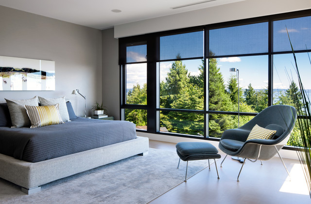 West Vancouver Residence contemporary-bedroom