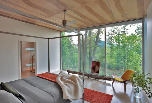 West Virginia Retreat modern-bedroom