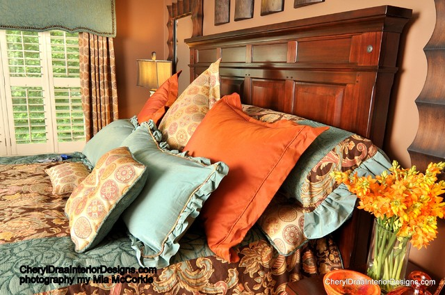 Westbrook project traditional bedroom atlanta by for Cheryl draa interior designs