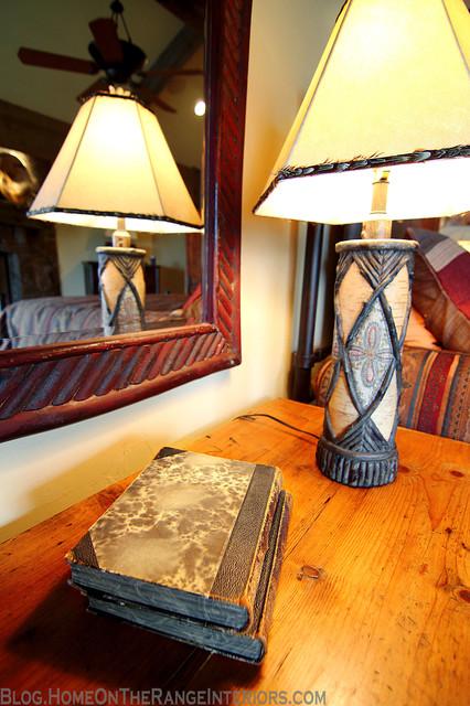 Western Mine Style Home rustic-bedroom