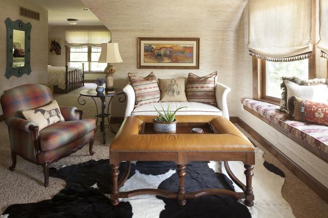 western themed bedroom american southwest bedroom - Western Interior Design Ideas