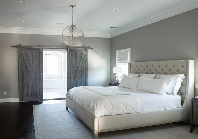 Master Bedroom With Bathroom westminster master bedroom/bathroom - traditional - bedroom - new