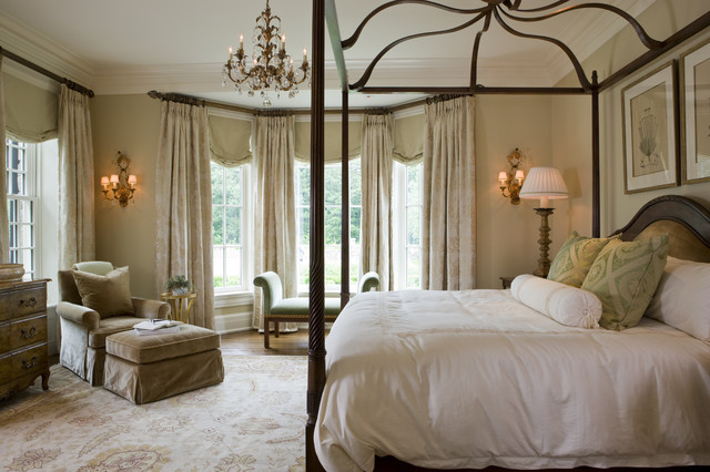 Weston Residence traditional-bedroom