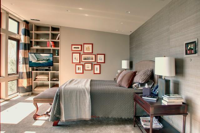 Westport Ct Contemporary Bedroom New York By