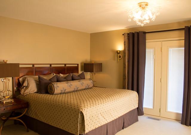 Westside mid century modern house master bedroom modern for Mid century modern master bedroom
