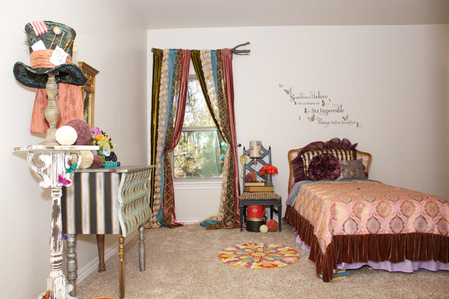 Whimsical Mad Hatter Bedroom
