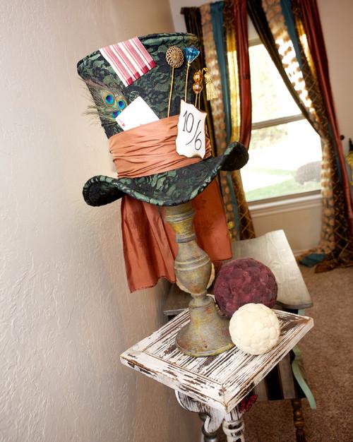 Whimsical Mad Hatter Bedroom