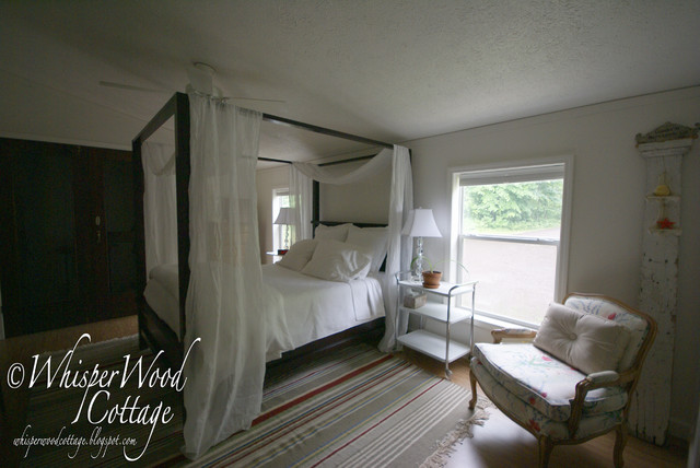 WhisperWood Cottage eclectic-bedroom