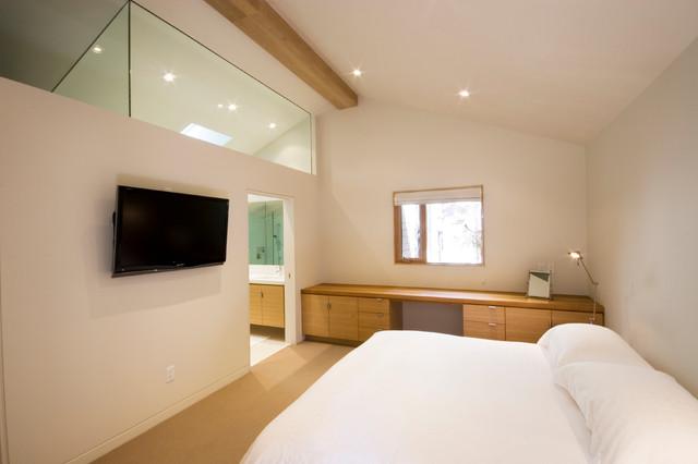 Whistler Retreat contemporary-bedroom