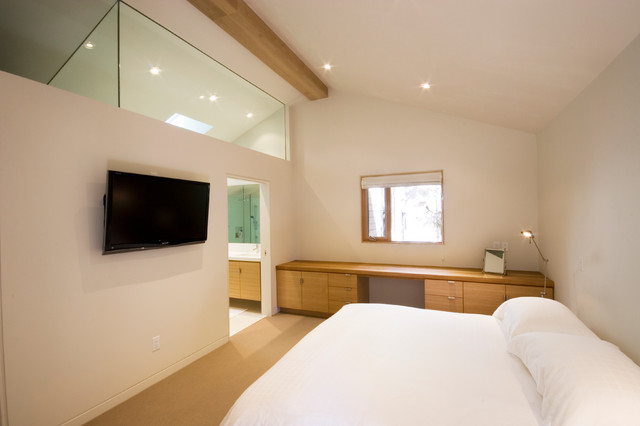 Whistler Retreat contemporary bedroom